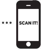 Scan it with your Smartphone